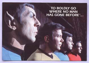 To boldly go… The Tarot Kings   Star Trek – Tarot Thrones