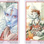 King | Queen | Swords | Fey Tarot | Tarot Thrones