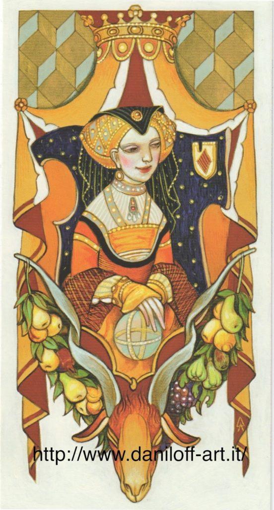 Tarot Combat A Battle Oriented Game Using A Tarot Deck: The Queen Of Pentacles – Tarot Thrones