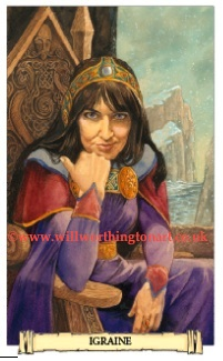 Tarot Thrones: Igraine - Camelot Oracle - Will Worthington