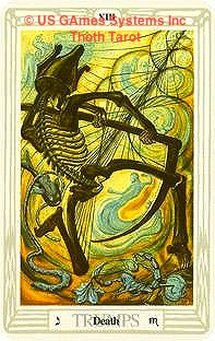 Tarot Thrones: Thoth Tarot Death US GAmes Inc