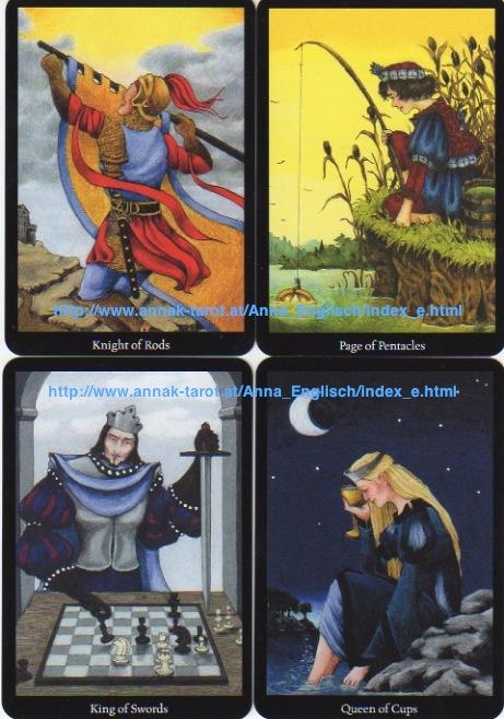 AnnaK Tarot   Deck Review – Tarot Thrones   The Court Card Blog