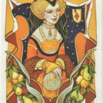 Queen of Pentacles | Alexander Daniloff Tarot | Tarot Thrones