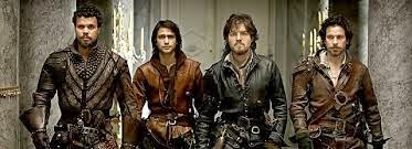 Athos, Porthos, D'Artagnan, Aramis - the Tarot's court card knights