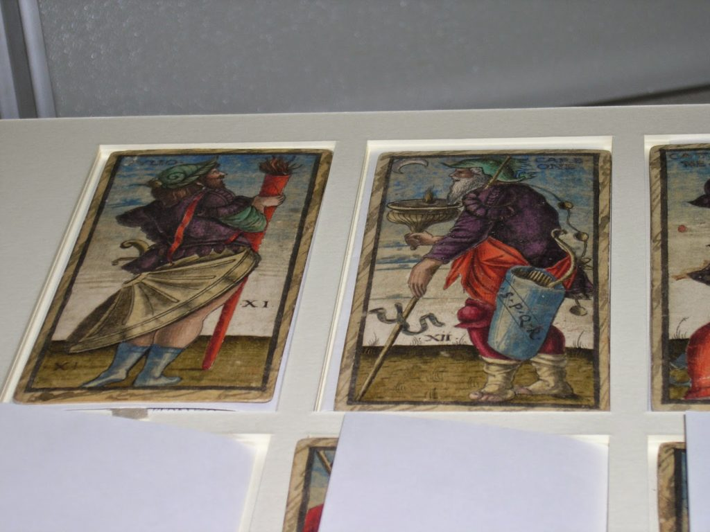 The Sola Busca Tarot, the Brera, Milan