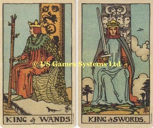 King of Swords | King of Wands – Tarot Thrones | The Court