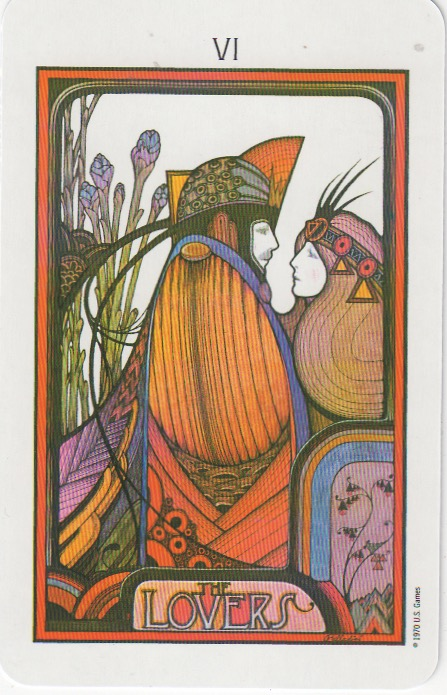 The Lovers VI | Aquarian Tarot | David Palladini | www.tarot-thrones.com