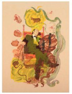Salvador Dali | King | Coins | Tarot