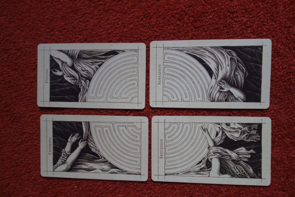Supra Oracle, The four cards that make up The Secret