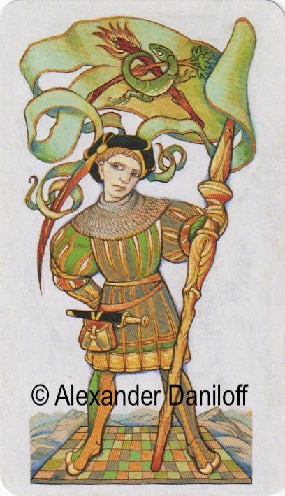 Alexander Daniloff | Page of Wands | Tarot Thrones