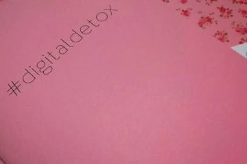 #digitaldetox | Personalised Stationery