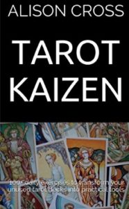 Image of Tarot Kaizen paperback book by Alison Cross